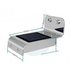 LED solární světlo venkovní PIR sensor