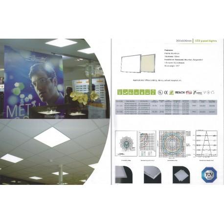 LED panel 30 yx 60 cm