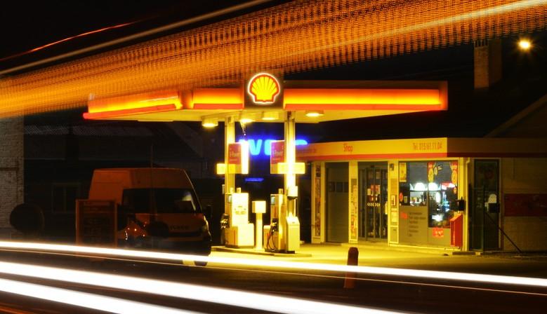LED osvětlení pro benzínové stanice